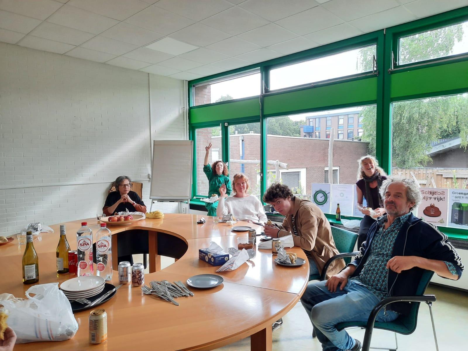 Bijeenkomst met Stroomleden bij de Groene Hub, Zuid-Oost